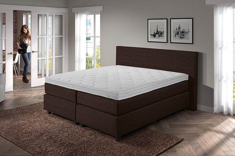 romantische boxspring free eijerkamp collectie boxspring elec sunday s luna with romantische. Black Bedroom Furniture Sets. Home Design Ideas