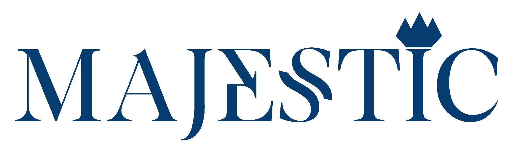 Majestic Logo Blauw